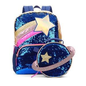 Girls Backpack with Lunch Bag
